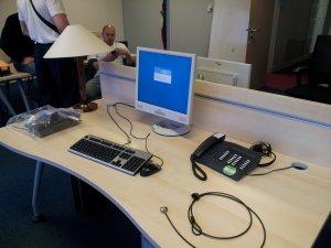 Déploiement de matériel informatique et d'image système.