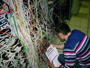 câblage de salle informatique